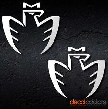 "2x Toyota MR2 ""Midship Runabout"" Eagle - Vinyl Decals Stickers - MR2 MR-S JDM"