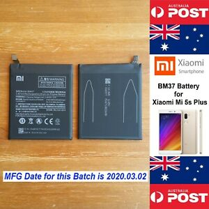 GENUINE Xiaomi Mi 5s Plus Battery  BM37  3800mAh Good Quality - Local Seller
