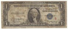 1935-A $1 Dollar Bill Silver Certificate Experimental S Note FREE SHIP 497C-AEM