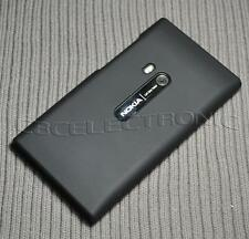 New Black Rubberized hard case back cover for Nokia N9