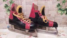 Vintage Ussr Ice Hockey Skates Sole 1984 Workshops Rare
