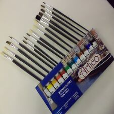 27pc artistes aquarelles peintures set hobbies crafts photos équipements Kit Art