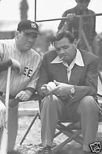 BABE RUTH William Bendix photo New York Yankees HOF