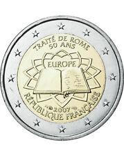 France 2007 - 2 Euro Treaty of Rome Commem (UNC)