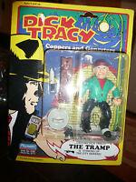 Rare MINT ON CARD Dick Tracy THE TRAMP Villain Figure