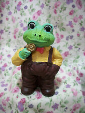 New Frog Figure Male In Overalls