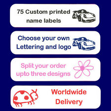 IRON-ON School Name Tags Name Labels x 75
