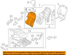 Genuine Hyundai 89160-4R150-Y5S Seat Cushion Covering Assembly Rear