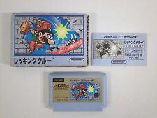 WRECKING CREW -- Famicom, NES. Japan game. Work fully. 10602