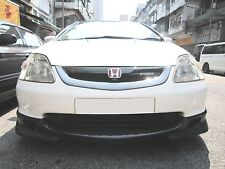 MU style carbon fiber front grille mesh fit for Honda 2002-03 Civic Type-R EP3