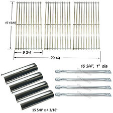 Replacement Master Forge P3018 Grill Burner,Heat Plate,Cooking grid