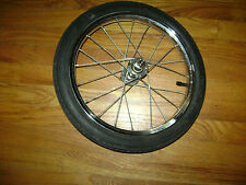 """BABY TREND STROLLER JOGGER 16"""" FRONT WHEEL TIRE Replacement Part Quick Release"""