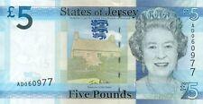 Jersey P-33 5 pounds (2010) UNC