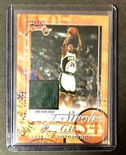 2004-05 Fleer Sweet Sigs Sweet Stroke Jersey Card #SS-RA RAY ALLEN #'D210/238