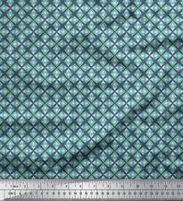 Soimoi Fabric Star /& Diamond Geometric Printed Fabric 1 Meter GMD-588M