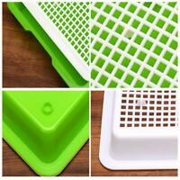 Seed Sprouter Tray Double-layer Soilless Culture Bean Hydroponic Nursery Implant