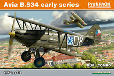 Eduard 1/72 Modelo Kit 70103 Avia B-534 serie temprana Profipack Dual Combo