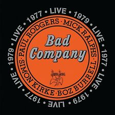 BAD COMPANY - BAD COMPANY LIVE IN CONCERT1977 & 1979 DOPPEL-CD NEUF