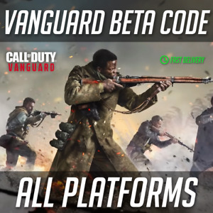 Call of Duty Vanguard Early Access Betas Code ALL PLATFORMS (Quick Delivery)