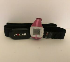 Polar FT4 Fitness Training Heart Rate Monitor Watch Pink With H1 Chest Strap