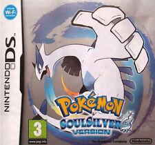 Pokemon: SoulSilver Version (Nintendo DS, 2010) - European Version
