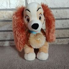 "DisneyStore Authentic Lady and the Tramp - Lady Medium Soft Plush 14"" Toy"