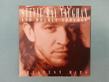 """STEVIE  RAY  VAUGHAN  &  DOUBLE  TROUBLE        """"GREATEST  HITS""""    CD / USED"""