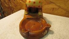 Antique Souvenir Chalkware Ashtray Grand Junction Colo African American