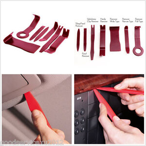 Car Off-Road Interior Door Handle Trim Panel Clip Light Audio Removal Tools 7in1