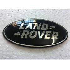 LAND ROVER GRILLE EMBLEM BLACK+SILVER BADGE  FOR LAND ROVER GRILL 2013-2017 18