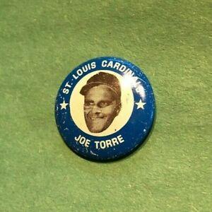 1969 MLBPA  JOE TORRE  Baseball Pin Back Button  Winona