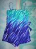 One piece Roxanne swimsuit WONEN'S SIZE: 16 / 38D  ADJUSTABLE/REMOVABLE STRAPS