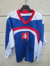 Maillot hockey SLOVAQUIE SLOVAKIA shirt jersey trikot collection M EXIRAY