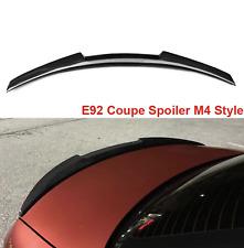 BMW E92 Spoiler M4 Style 3 Series E92 & E92 M3 Carbon Fiber Rear Spoiler