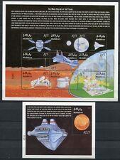 Malediven Maldives 2000 Raumfahrt Weltraum Space Mars 3345-3362 Block 440-441