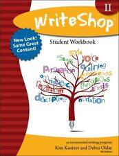 WriteShop II Student Workbook-Teaching Writing-Secondary Homeschool NEW