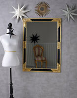 Espejo de Pared Barroco Antiguo Oro Vestidor Ornamental XXL