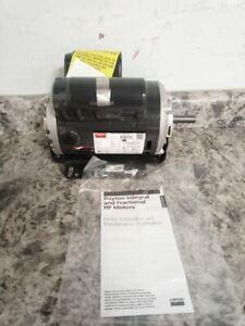 Dayton 30PT66 1/2 HP 1725 RPM 115/230VAC Cap-Start/Run General Purpose Motor