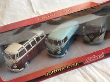 3 Oldtimer VW Busse Bus Schuco Junior Line in OVP *