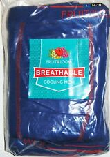 Fruit of the Loom BMF6ELB Boys LARGE Boxers with Breathable Cooling Mesh QTY 12