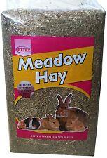 Pettex comprimido Conejo pequeño animal Bale Prado Mini heno 2 Kg (paquete de 5)