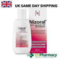 Nizoral Anti-dandruff Shampoo - 60ml | Dry Flaky Itchy Red Scalp |Fragrance Free