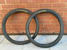 "2 x Set of Continental Baron 26"" X 2.3 Pair MTB Tyre Tyres"