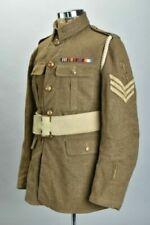 British South African Ww1 Pattern 1917 Dated Uniform, Belt & Sa Insignia Wwi