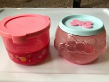 Hong Kong 7-11 Sanrio Lock & Go Face Round & Double-Layer Container My Melody