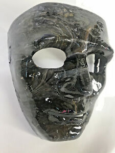 Left to Die Halloween mask Hand painted resin finish- leather strap Mardi Gras
