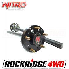 Jeep Wrangler JK Rubicon 07-17 Dana 44 32 Spline Chrome-Moly Rear Axles Nitro