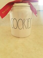 Rae Dunn COOKIES Canister Cookie Jar Holder 2019