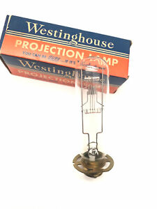 Vintage Westinghouse Projection Lamp DEC 750W 120V T12 C13D Fil DC Med Ring