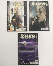 3 Issues Ultimate Comics X-Men Lot #1-3, 4, 5 Wolverine Rogue Marvel Comic
